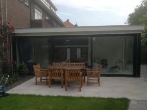 Uitbouw en schuifpui Den Haag